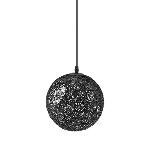 Lámpara de Araña Luz de Techo Forma Globo Colgante con