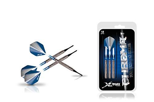 XQ Max Darts Chroma, Set di Freccette Unisex, Blue, 18 Grams