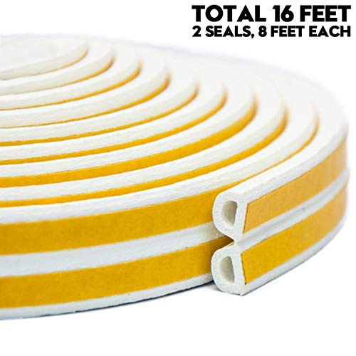 Keeping Fun Indoor Weather Stripping,Self Adhesive Foam Window Seal Strip for Doors and Windows...