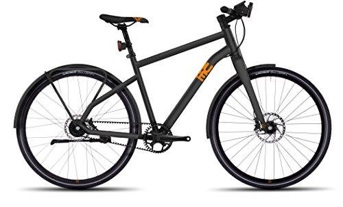 Ghost Square Urban X 10 grey/orange Rahmengröße 62 cm 2017 Cityrad