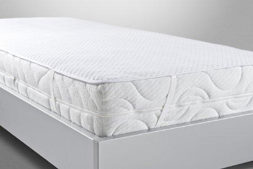 BNP Bed Care Matratzenauflage CAROLIN Stretch-Line mit Elastan Matratzenschoner (100cm x 190cm)