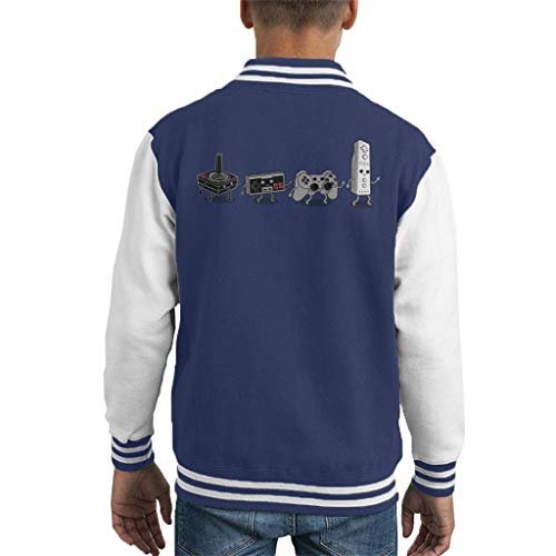 Cloud City 7 Controller Evolution Gamepads Varsity Jacket voor kinderen