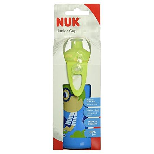 NUK 10255069 - Junior Cup mit Push-Pull Trinktülle