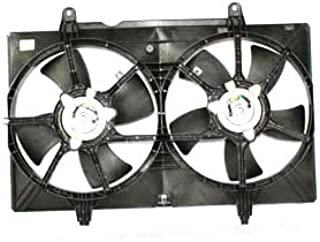 TYC 620940 Nissan Quest Replacement Radiator/Condenser Cooling Fan Assembly