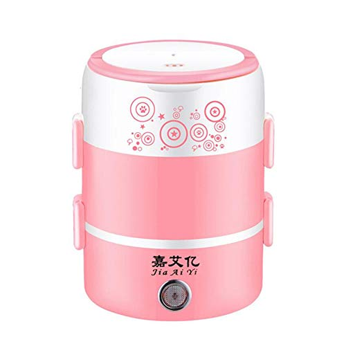 Buy Bargain JLFTF 2L Mini Electric Rice Cooker 3 Layers Steamer Portable Stainless Steel Meal Therma...