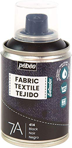 Pébéo - Fabric Paint Spray for Textiles 7A Spray - Natural and synthetic...