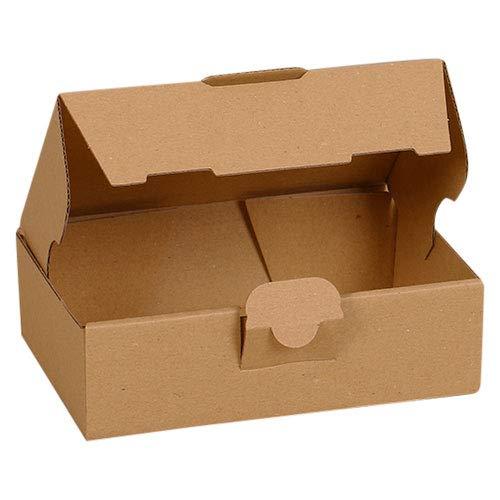 25x Maxibriefkartons Versandkartons Faltschachtel Faltkarton Maxibrief Karton 160 x 110 x 50, Braun, MB-1