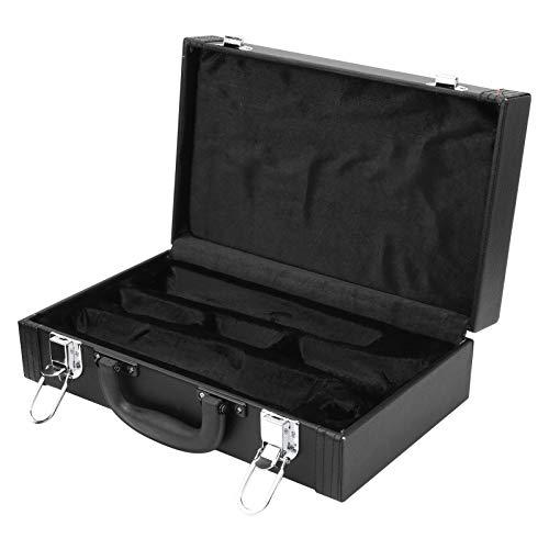 Klarinetten-Kunstleder-Etui, Qualitätssicherung Einfaches und elegantes Erscheinungsbild Klarinetten-Box für Musik-Player zum Abspielen von Musik
