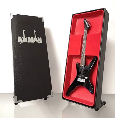 Chuck Schuldiner (Muerte) - B.C. Rich: réplica de guitarra en miniatura (vendedor del Reino Unido)