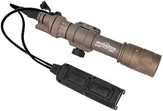 SureFire M603V IR Scout Light with SR07-D-IT Switch & M75 Thumbscrew Mount, Tan