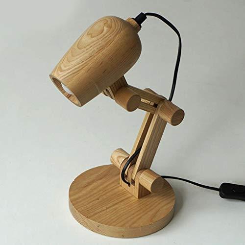Lfixhssf Nordic Art Children 's slaapkamer leescamera op het nachtkastje Desk oogbescherming Desk Lamp Lfixhssf (maat: B)