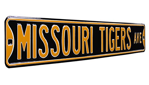 Missouri Tigers Plug in-Great Sports Fan Gift for Adults-Babies-Kids Room Authentic Street Signs NCAA Officially Licensed-LED Night Light-Super Energy Efficient-Prime Power Saving 0.5 watt