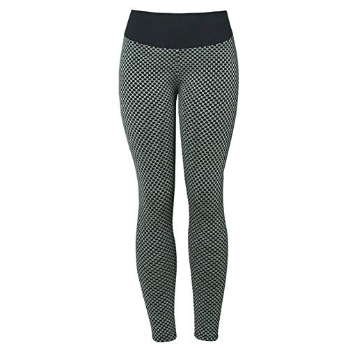 Goutui 2021 Women Sport Yoga Pants Tight Leggings High Waisted Textured Ruched Butt Lifting Anti Cellulite Workout Tights