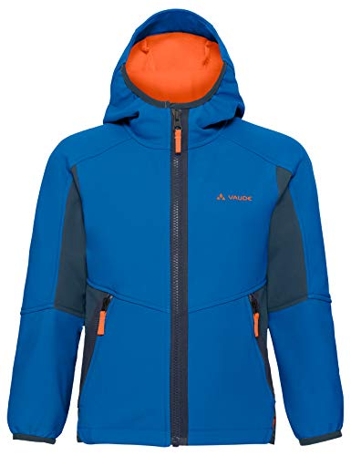 VAUDE Kinder Jacke Rondane III, Softshelle, baltic sea, 134/140, 411183341400