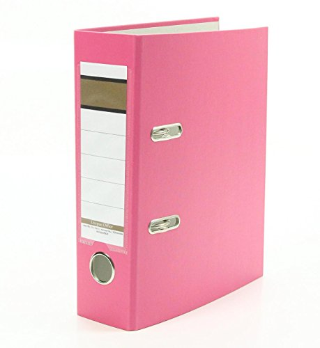 Ordner / DIN A5 / 75mm / Farbe: pink