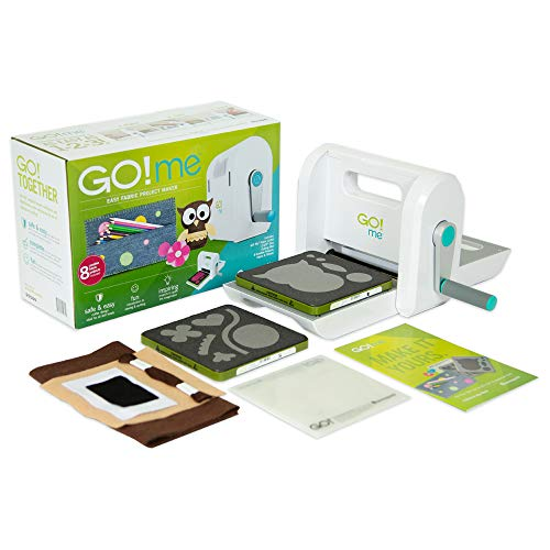 AccuQuiltGO! Me Easy Fabric Project Maker with GO! Me Fabric Cutter, (2) GO! Dies, GO! Cutting...