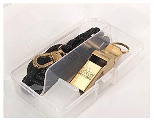 Halskette mit Anhänger, Pfeife, 304 Stahl, Survival-Signal, Punk, Dekoration, Zubehör, Geschenke, 123, gold, Größe