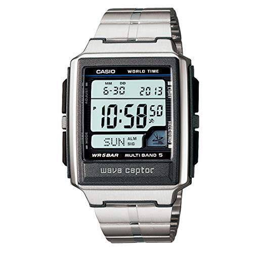 CASIO watch WAVE CEPTOR Waveceptor radio clock MULTIBAND 5 WV-59DJ-1AJF mens watch