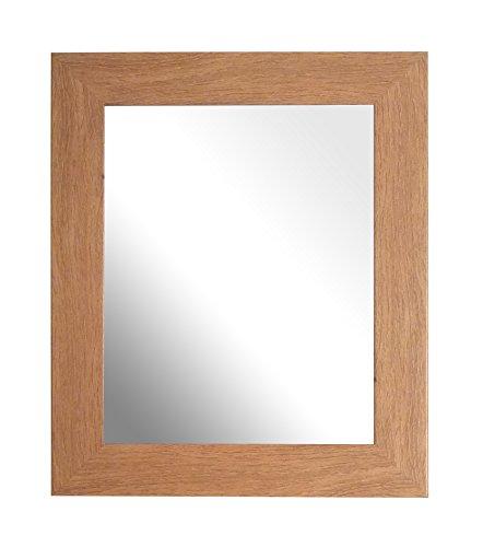 Inov8 Framing Inov8 Brits gemaakt traditionele spiegel, boomgaard Pippy eiken, 10x8 inch (25x20cm), hout, 30.48 x 30.48 x 3 cm