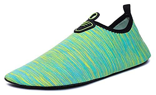 Zapatos de agua suaves para hombre y mujer zapatos de agua antideslizantes zapatos de secado rápido adecuados para natación de playa, surf, yoga y calcetines de agua de ejercicio zapatos de playa
