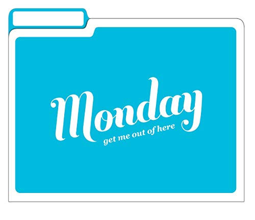 Knock Knock Days of the Week File Folders Set, Daily / Weekly Organizer Files (Set of 6, 11.5 x 9-inches) Photo #10