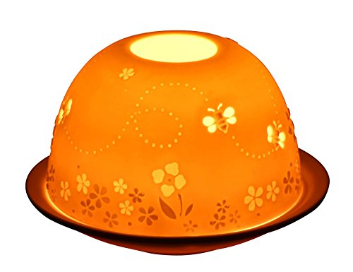 Busy Bees Tealight Candle Holder from Light-glow by Welino