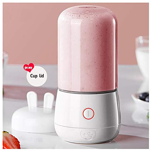 BLENDER RDJSHOP bezprzewodowa przenośna mini sokowirówka owoc smoothie ładowalna bez BPA 250 ml do domu sportów na świeżym powietrzu biura (około 8 filiżanek) (kolor: A)