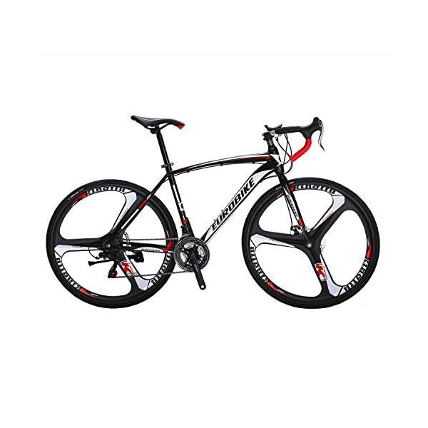 Road Bikes Eurobike Road Bike XC550 21 Speed 700C Wheels Road Bicycle Dual Disc Brake Bicycle [tag]