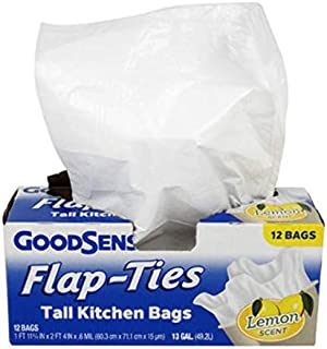 Wholesale G.S Tall Kitchen Bags 12ct 13 Gl Lemon S