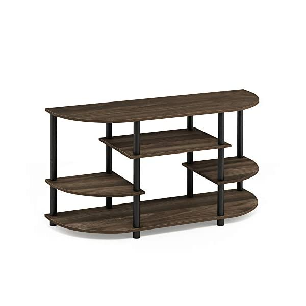 Furinno Jaya Simple Design Corner TV Stand