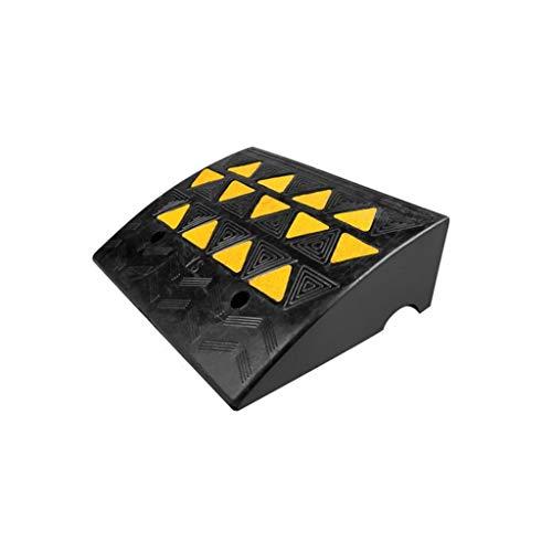 ChenB- Small Tools Rubberen Slope Mat, driehoek Sluipspanningsvastheid Fietshellingen voor hotel Road Slope Rampen 7,7/10,7 cm