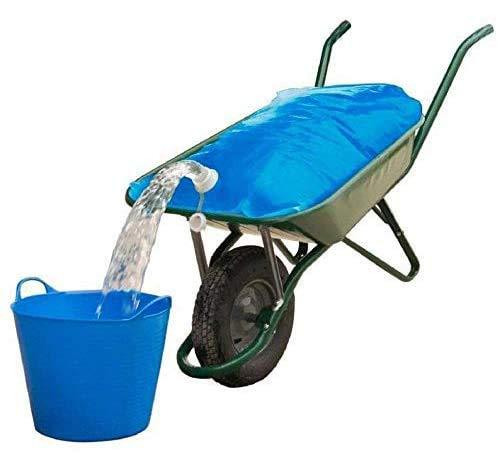 Spares2go Garden & Farm Wasserbehälter für Schubkarre, 50 l