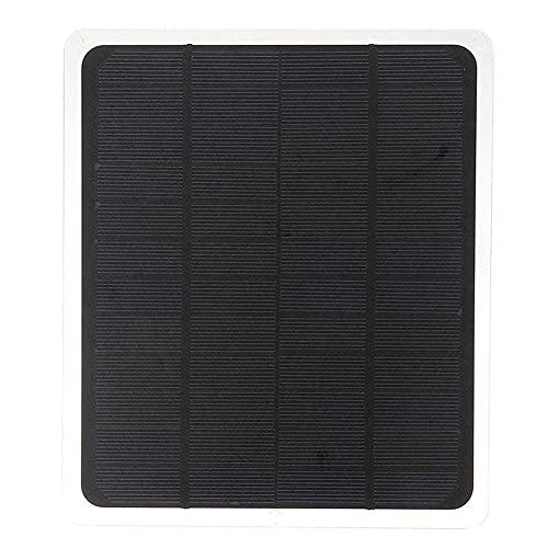 Luces solares súper Brillantes 12V 20W Panel Solar para Cargador de batería de teléfono RV Barco Camping 5V USB 2.0 Puerto Generador Accesorios