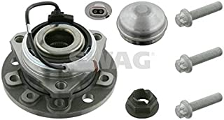Swag Wheel Bearing Kit Front Axle Fits OPEL Astra Zafira MPV Vauxhall 1603254