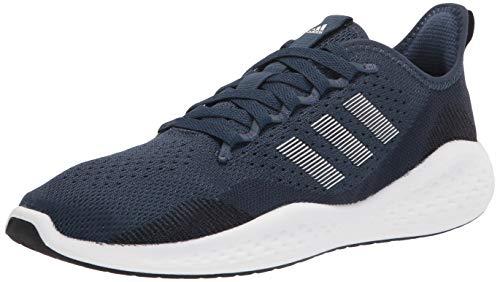 adidas Men's Fluidflow 2.0 Running Shoe, Ink/White/Crew Navy, 10.5