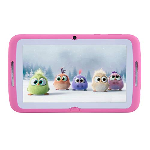 Kids Tablets PC 7 Inches, Android 7.1 OS, Kids Tablets for BENEVE (Pink)