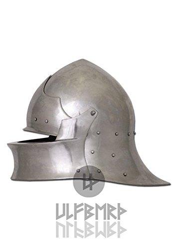 Schaller de Coventry en inglés, de 2mm Acero para combate de exhibición, talla L Ulfberth–Casco, English sallet Battle Ready freikampf reenactment Medieval