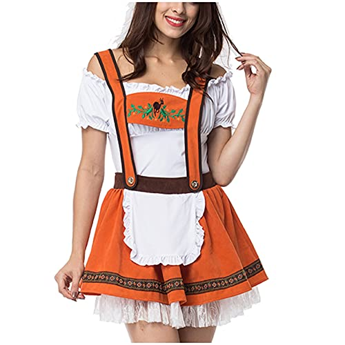 Vestito estivo da donna, abito estivo, da donna, costume da Oktoberfest, costume per cosplay, f, XL