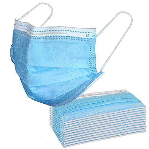 SYMTEX 50 Stück Medizinische Chirurgische Maske Type IIR Norm EN 14683 zertifizierte CE Mundschutzmasken OP Masken 3-lagig Mundschutz Gesichtsmaske Einwegmaske mund und nasenschutz