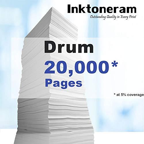 Inktoneram Compatible Drum Unit Replacement for Brother DR510 DR-510 HL-5100 HL-5130 HL-5140 HL-5150D HL-5150DLT HL-5170DN HL-5170DNL MFC-8220 MFC-8440 MFC-8640 MFC-8840D MFC-8840DN DCP-8040 (Drum) Photo #3