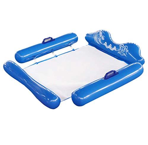 Queta Flotador hinchable de agua para nadar (azul)