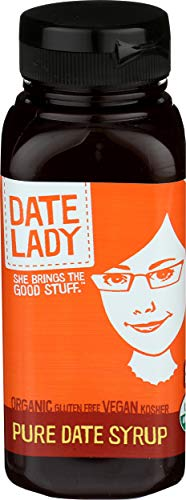 Award Winning Organic Date Syrup 18 Ounce Squeeze Bottle | Vegan, Paleo, Gluten-free & Kosher || Sugar Substitute || More Nutrition Than Maple Syrup or Honey