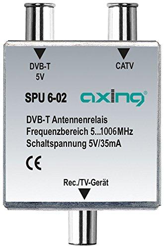 Axing SPU 6-02 DVB-T/ BK-Antennen-Relais Umschalter für Kabelfernsehen und DVB-T2 HD