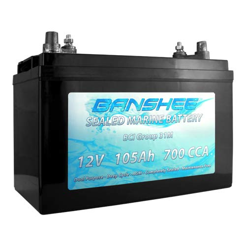 Sealed AGM Deep Cycle Dual Purpose Marine Battery
