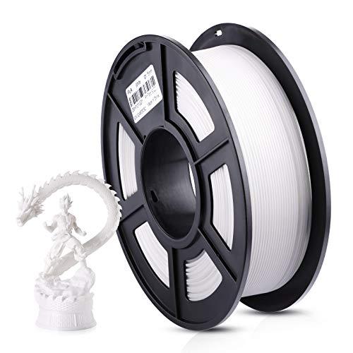ANYCUBIC Filament 1.75 PLA Weiß, 1kg 3d Drucker Filament PLA Plus