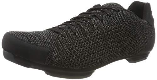 Giro Republic R Knit Mens Urban Cycling Shoe − 48, Black/Charcoal Heather (2020)