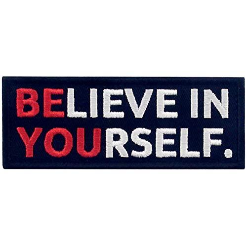 Sea usted mismo, crea usted mismo Broche Bordado de Gancho y Parche de Gancho y bucle de cierre 🔥