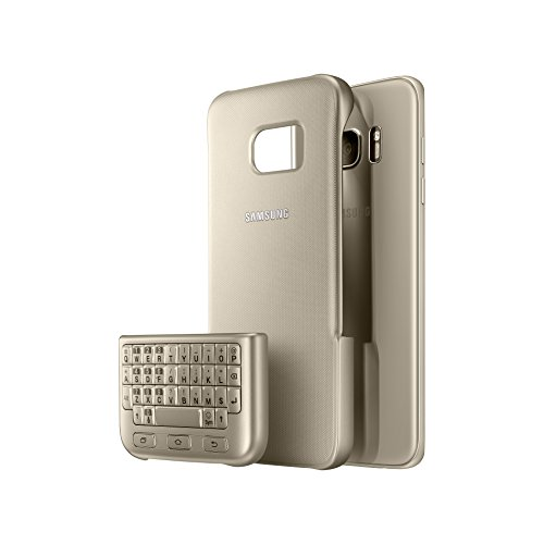SAMSUNG EJ-CG935UFEGDE Custodia con Tastiera Galaxy S7 Edge, Oro