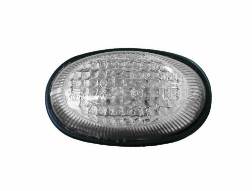 Depo 3003622 Réversible, feu lateral, avec porte-lampe, blanc