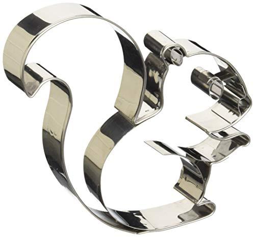 Birkmann 1010707310 Ausstechform Eichhörnchen groß 10 cm, Kunststoff, Grau, 5 x 3 x 2 cm